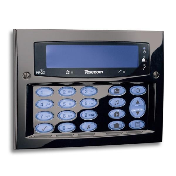 Modern alarm system keypad